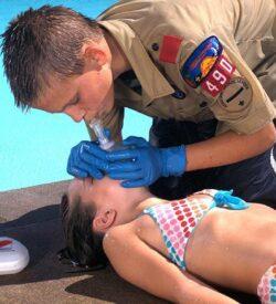 Training CPR in High School